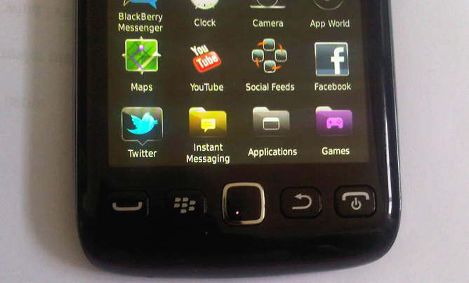 blackberry bold touch 9860