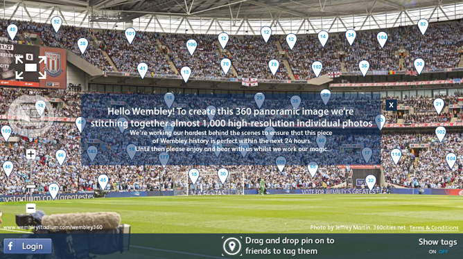 foto panoramica 360 10gigapixel estadio manchester city