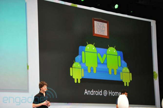 google android at home