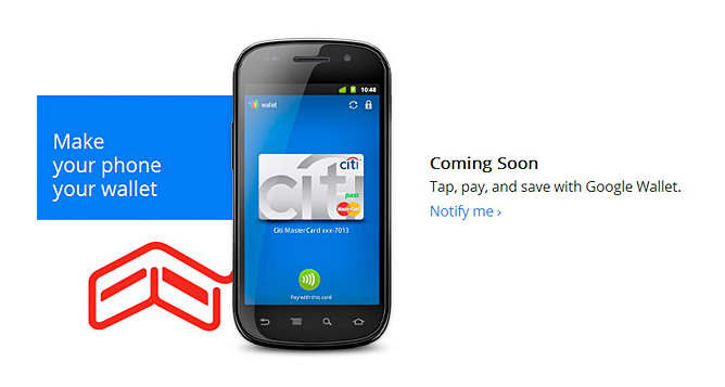 google wallet sticker