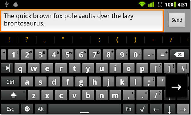 hackers keyboard android