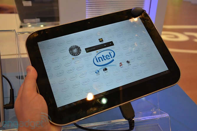 intel tablet honeycomb ultrabook