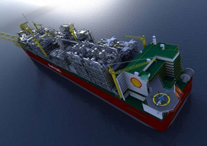 shell prelude flng project