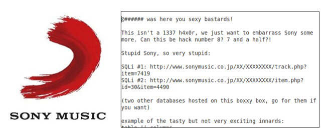 sony music japan hackeado