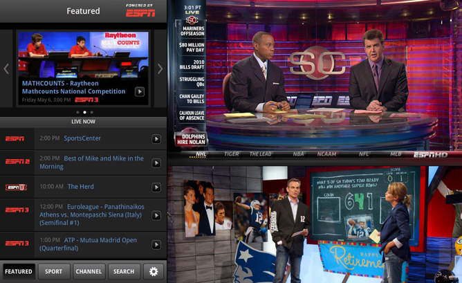 watchespn android espn en vivo live