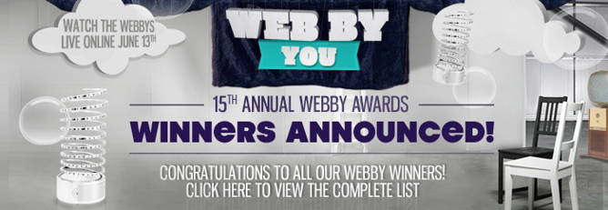 webby awards ganadores 2011