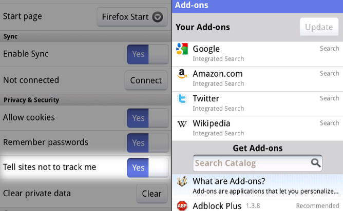 android firefox 5