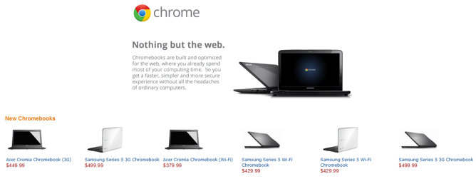 chromebooks amazon google
