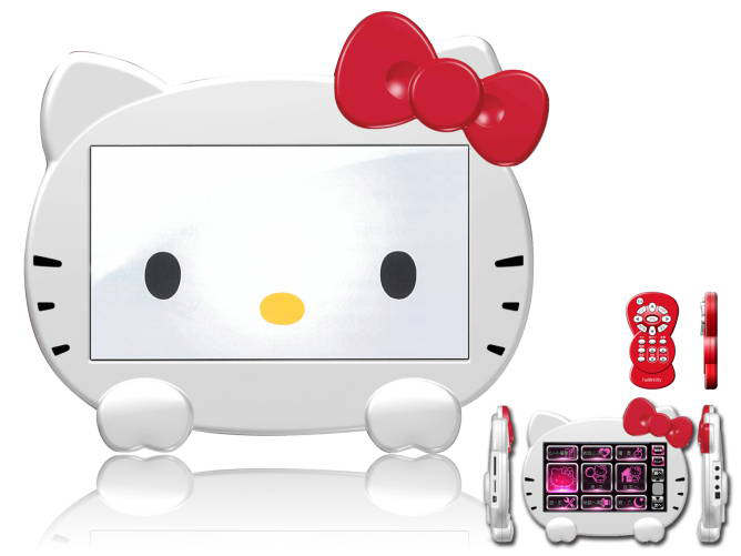 gps tv hello kitty 7 pulgadas