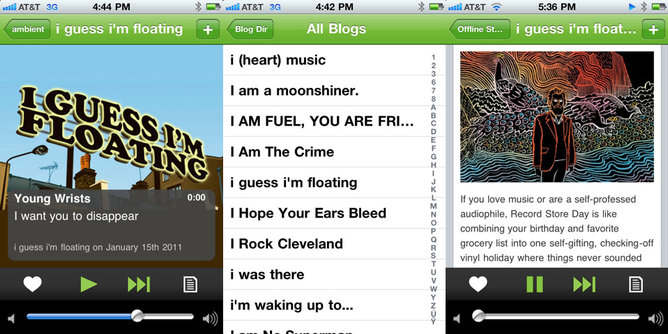 hype machine radio iphone