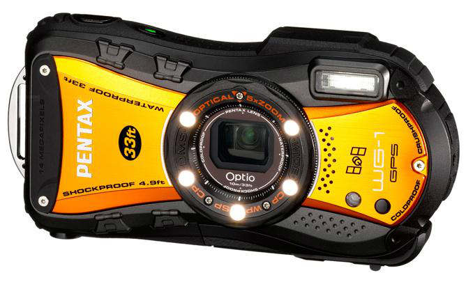 pentax optio wg-1 gps
