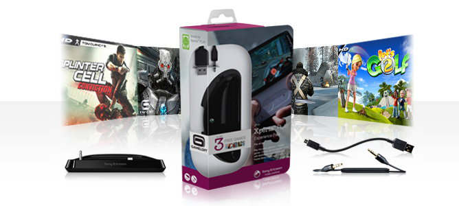 sony ericsson xperia play experience pack