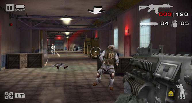 battlefield bad company 2 xperia play android