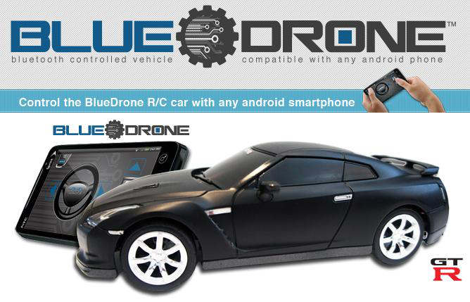bluedrone rc car