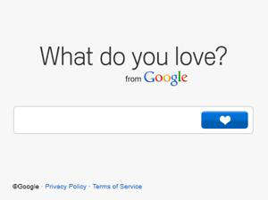 google what do you love