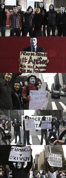 marcha hackers anonymous brasil sao paulo a