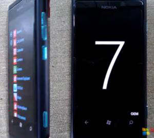 nokia w9 wp7 sea ray