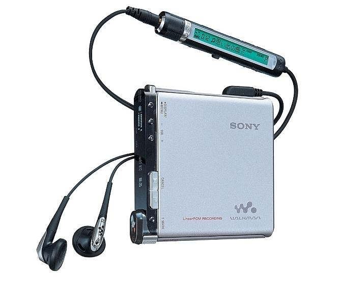 sony md minidisc player a