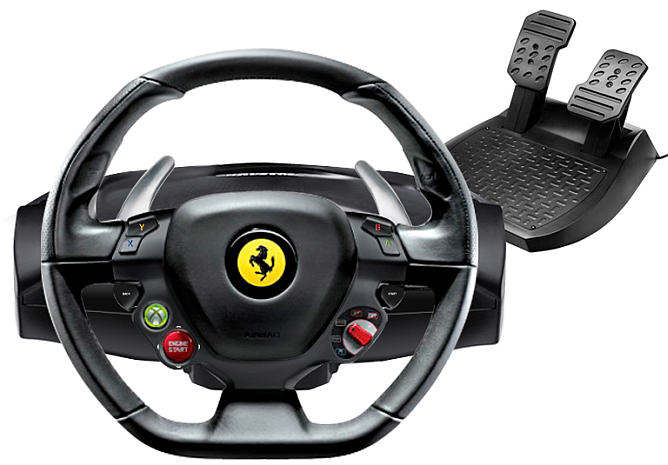 Ferrari 458 Italia Racing Wheel Xbox 360 Thrustmaster