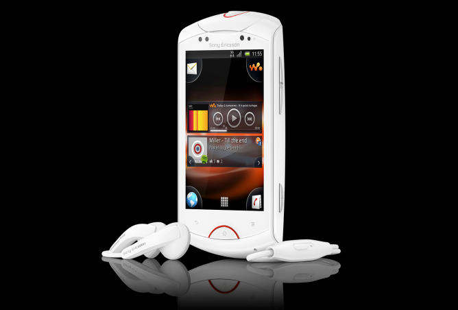 Sony Ericsson Live with Walkman: Smartphone Android musical
