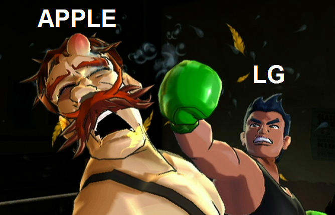 apple vs lg
