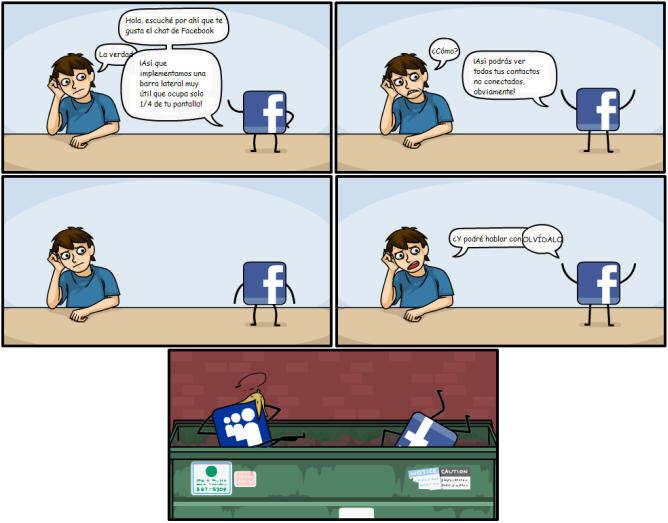 facebook sucks malo apesta