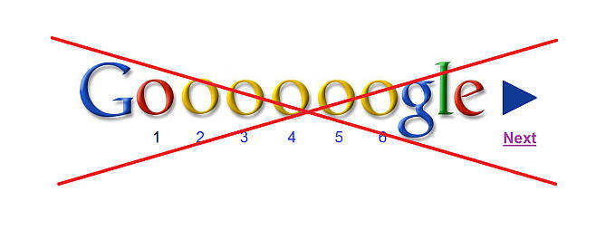 google infinite scroll