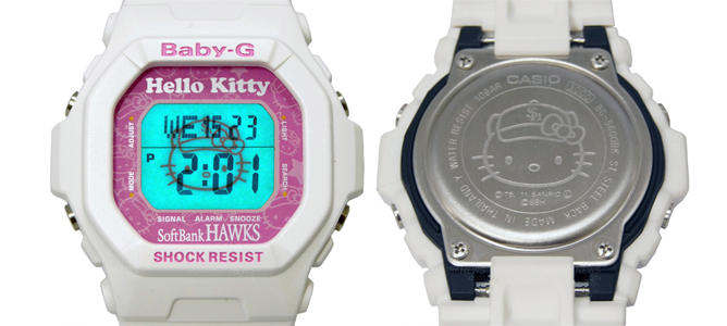 hello kitty casio baby g