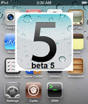 ios 5 beta 5 jailbreak