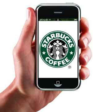 iphone starbucks
