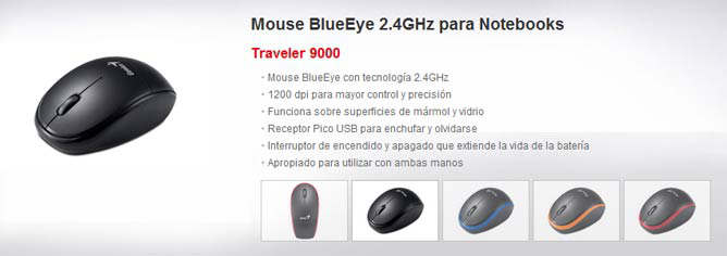 mouse traveler 9000