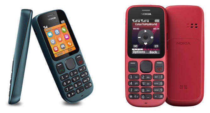 nokia 100 101 doble chip