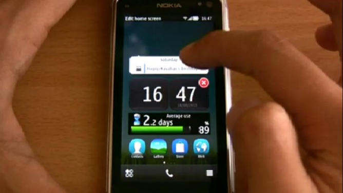 nokia n8 symbian belle video