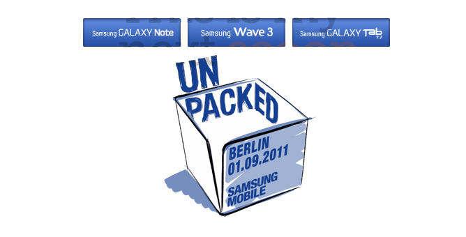 samsung unpacked android galaxy tab 7.7 galaxy note wave 3
