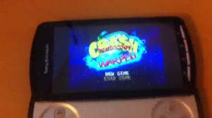 sony ericsson xperia play crash bandicoot iso
