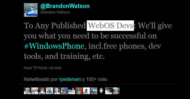 webos windows phone