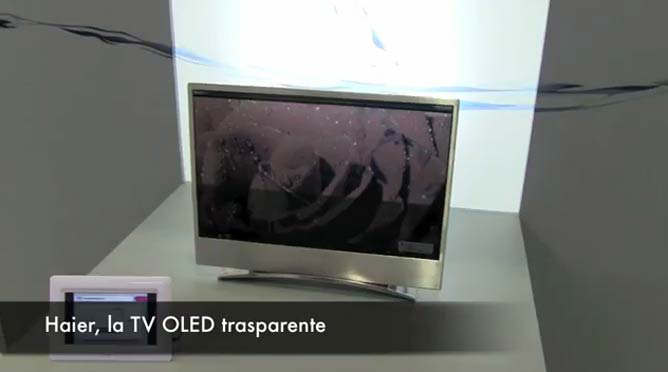 tv oled transparente