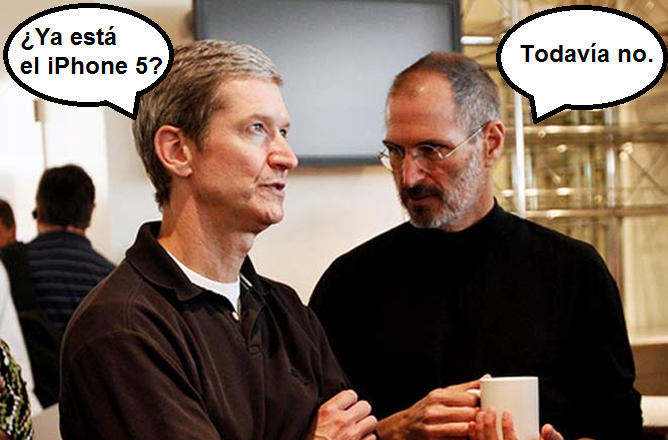 iphone 5 tim cook steve jobs