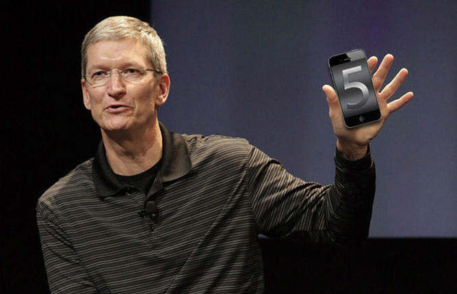 iphone 5 tim cook