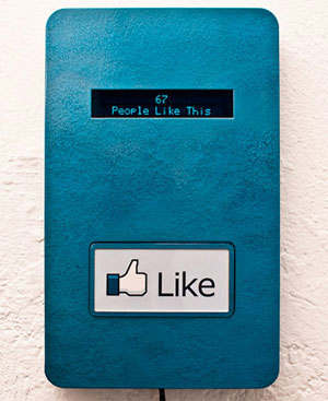 like gusta facebook real
