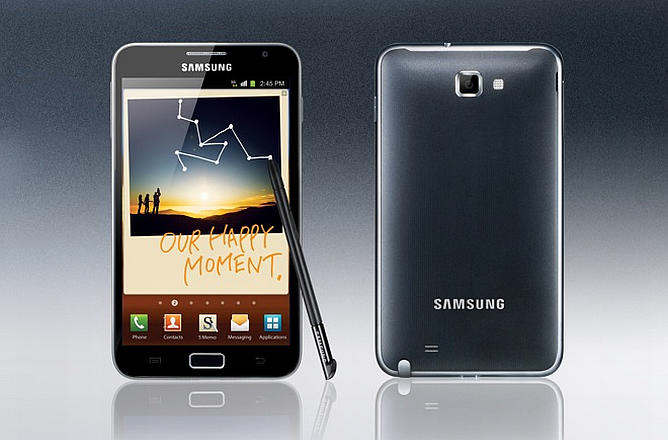 samsung galaxy note a