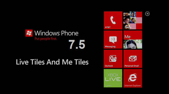 windows phone 7.5 mango