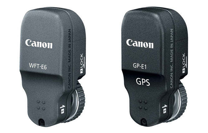 Canon WFT-E6A Wireless File Transmitter GP-E1 GPS Receiver