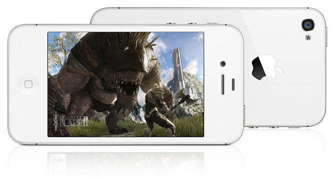 apple iphone 4s infinity blade 2