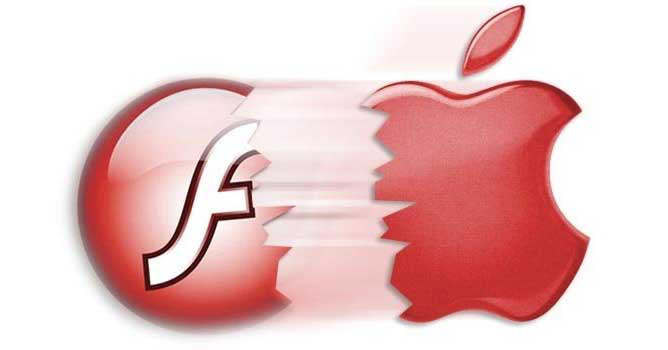 Flash y Apple