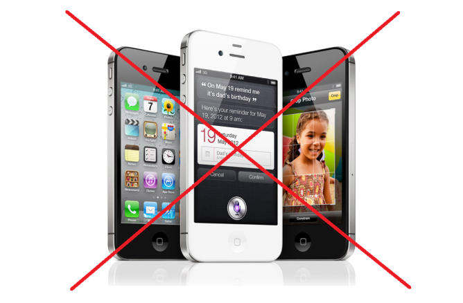 iphone 4s not