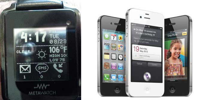 iPhone 4S Meta Watch