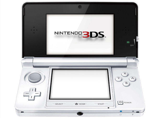 nintendo 3ds color blanco