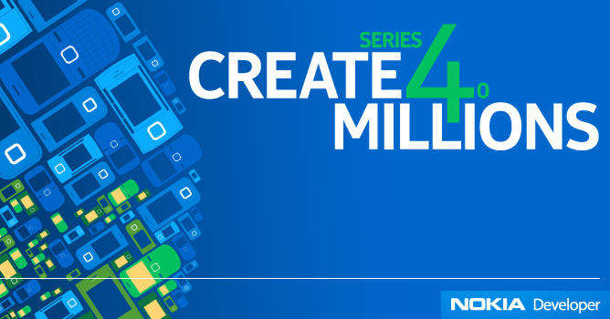 nokia developer 2011 create 4 millions
