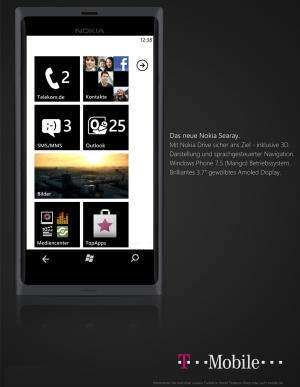 nokia searay windows phone 7.5 mango t-mobile a